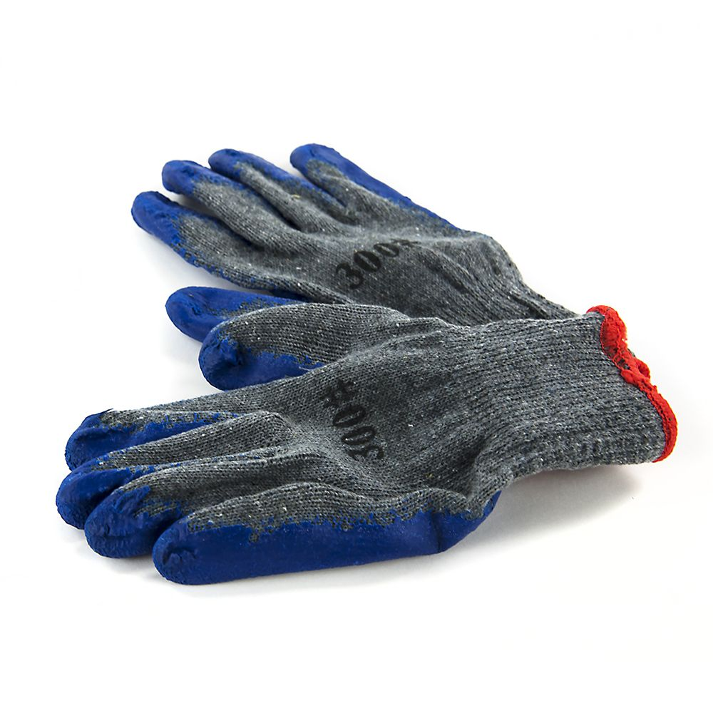 Transfer Gloves Cotton W Heat Resistant Latex Coating