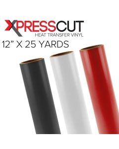 "XPress Cut Heat Transfer Vinyl 12"" x 25 Yards"