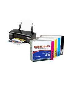 Epson C120 Sublimation Ink - SubliJet IQ Standard Capacity Ink Cartridges (2/pack)