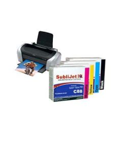 Epson C88 Sublimation Ink - SubliJet IQ Standard Capacity Ink Cartridges