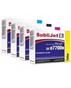 Ricoh GXE7700N Sublimation Ink - SubliJet-R Extended Capacity Ink Cartridges