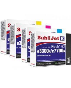 Ricoh GX e3300N/ GXE7700N Sublimation Ink - SubliJet-R Standard Capacity Ink Cartridges
