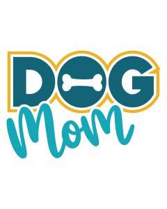 Dog Mom, Pet Theme Bone SVG