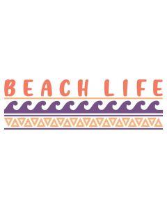 Beach Life, Tropical, Vacation, SVG Design