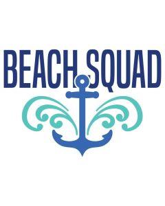 Beach Squad, Nautical, Anchor, Vacation, Friends Trip