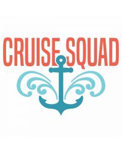 Cruise Squad, Summer, Beach, Vacation, Nautical, SVG Design