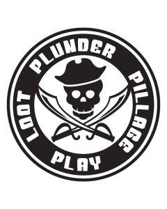 Loot Plunder Pillage Play, Kids, Pirate, SVG Design