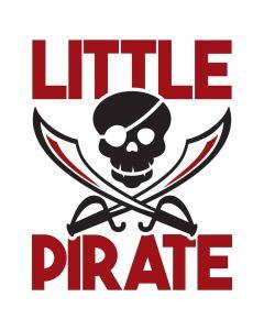 Little Pirate, Kids, Skeleton, Pool, Summer, SVG Design