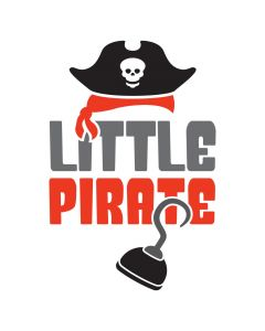 Little Pirate, Pirate Hook, Summer, Kids, SVG Design