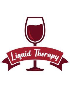 Liquid Therapy, Wine, Drink, SVG Design
