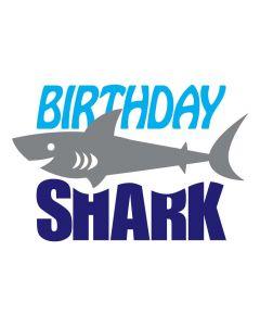 Birthday Shark, Birthday Boy, Ocean, Beach Party, SVG Design