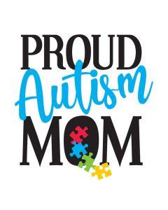 Proud Autism Mom, Puzzle, SVG
