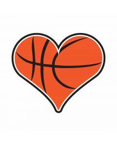Heart Basketball, Sports, Team Spirit, SVG