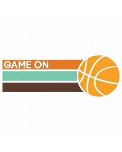 Game On, Basketball, Sports, Team Spirit, SVG Design