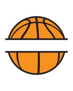 Basketball Border, Sports, Personalized, SVG Design