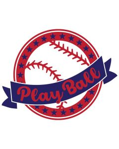 Play Ball, Baseball, Softball, Team Spirit, SVG Design