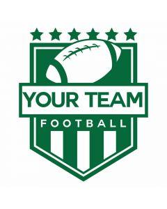 Football Crest, Sports, Shield, SVG Design
