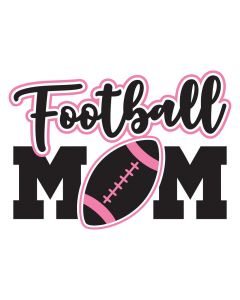 Football Mom, Sports, SVG Design