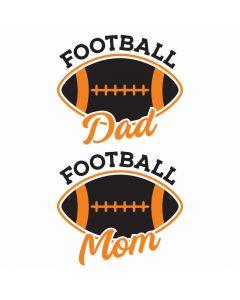 Football Mom and Dad, Sports, Team Spirit, SVG