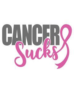 Cancer Sucks, October, Pink, Awareness, SVG Design