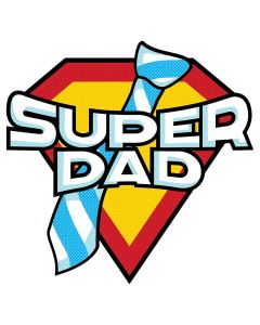Super Hero Dad, Father's Day, Comic, Sublimation