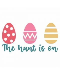 The Hunt is On, Easter Egg, Spring, SVG