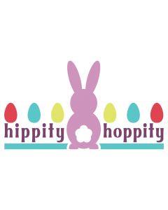 Hippity Hoppity, Easter Bunny, Egg, Spring, SVG