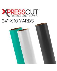 """XPressCut PSV 3 mil Gloss Intermediate Sign Vinyl 24"""" x 10 Yards"""