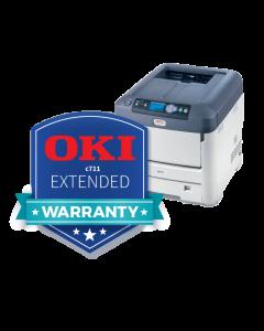 Extended Warranty for OKI C711WT Printer
