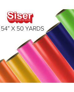 """Siser EasyWeed Heat Transfer Vinyl - 54"""" x 50 yards"""