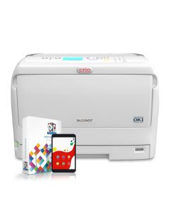 Crio 8432WDT White Toner Printer with RIP Software and Remote Support Tablet