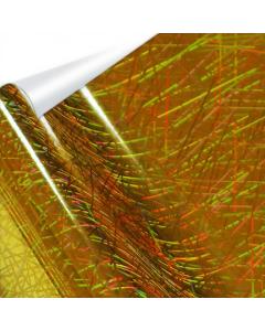 "Heat Transfer Metallic Foil Roll - 12.5"" x 100' - Confetti Gold - OVERSTOCK"