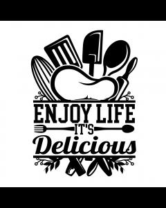 Enjoy life it's delicious SVG