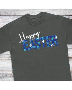 "Easter Egg Patterned Heat Transfer Vinyl Sheets - 12"" x 19"""