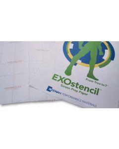 "EXOstencil Screen Prep Paper 13"" x 19"" (500/pack) - CLEARANCE"
