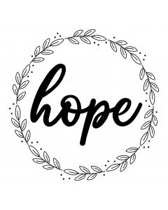 FLORAL WREATH HOPE