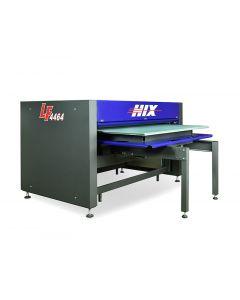 "Hix Wide Format Single Platen Pneumatic Heat Press Machine - 44"" x 64"""