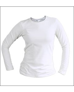 Ladies Long Sleeve Sublimation T Shirt by Vapor Apparel