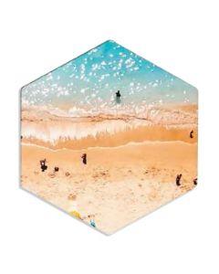 Hexagon Cork-Back MDF Sublimation Drink Coasters