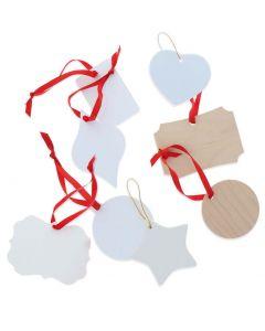 Season's Greetings Sublimation Ornaments Bundle