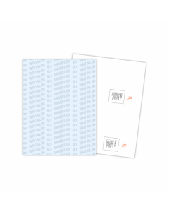 Kan't Kopy Security Paper with RX Invalid Pattern (250 sheets/pack)