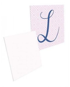"""Small Square Sublimation Insert for Bezel Pendant - 0.75"""" x 0.75"""" (25/case)"""