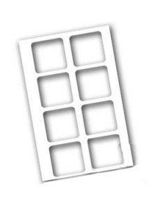 "13"" x 19"" MDF Board Jig for Drink Coasters (SB5677)"