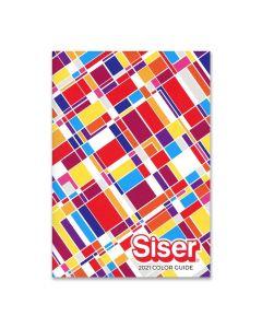 Siser Heat Transfer Vinyl - Color Swatch Chart - Color Guide
