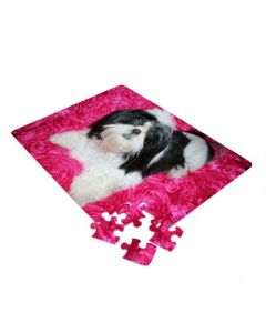 80 Piece Jigsaw Puzzle for Sublimation Printing (5/pack)
