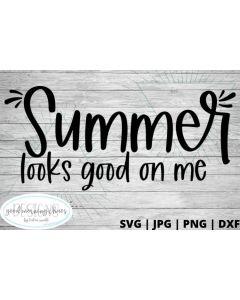 Summer looks good on me
