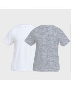 Short Sleeve Basic Sublimation T Shirt by Vapor Apparel