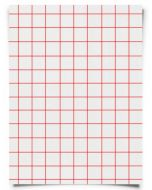 """Red Grid 2.0 Heat Transfer Paper for Inkjet Printers Sample Pack - 8.5"""" x 11"""" (5 sheets)"""