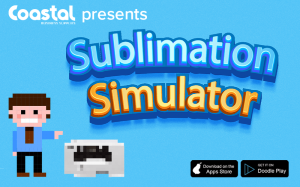Meet the New Mobile Game: Sublimation Simulator (April Fools)