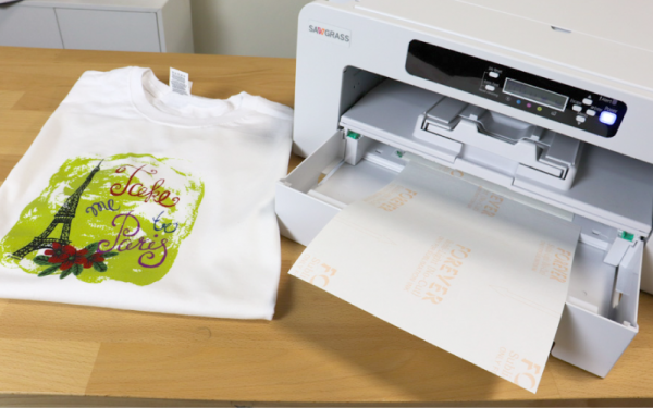 Your Guide to Sublimation on Cotton with FOREVER Subli-Light Transfer Paper
